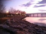 Last sunset of 2011. Tarrytown, NY
